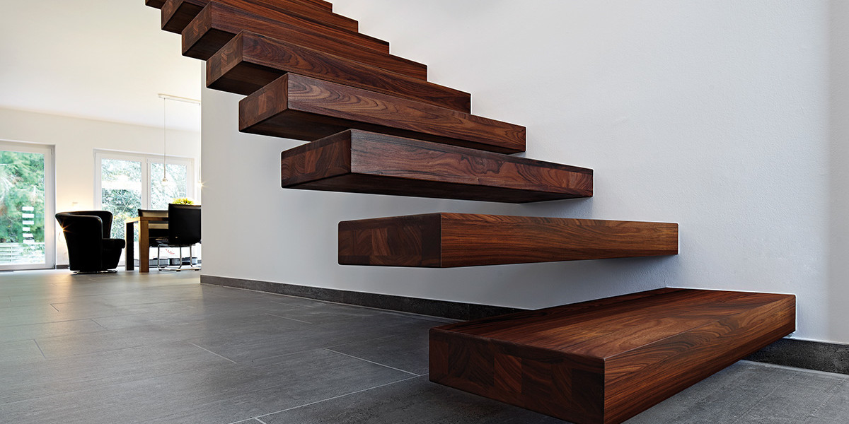 Holztreppen-Slider