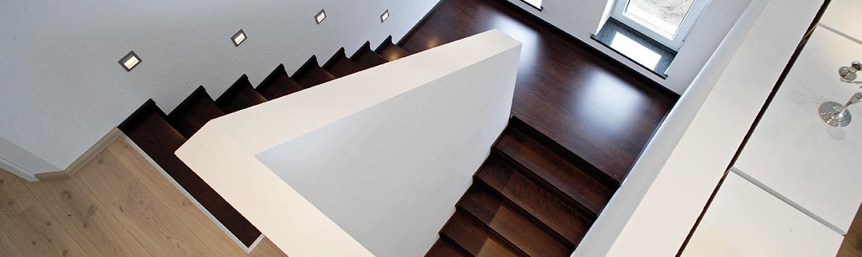 Stufen auf Beton