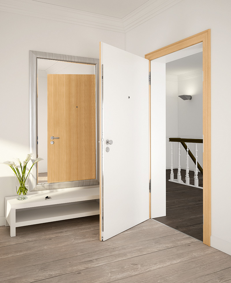 Tegethoff Treppenbau – HUGA Wohnungseingangstüren